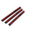 Red and Black Carpenter Pencils | 997-H Hard | Dixon | 12 Count | 19973