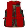 Red-Front Mesh Shooting Vest | Single Gun Pad | Bob Allen | 240M
