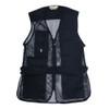 Black Mesh Shooting Vest | Single Gun Pad | Bob Allen | 240M
