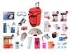 4 Person Elite Survival Kit | Red or Camo Wheeled Bag | SKT4