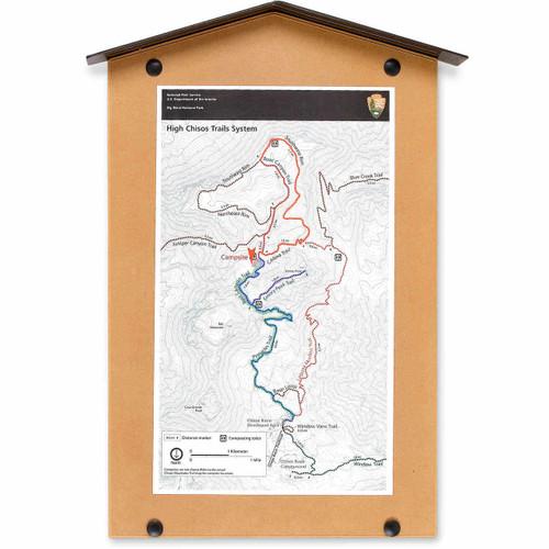 Poster Shelter - Map Shelter with Lens Kit