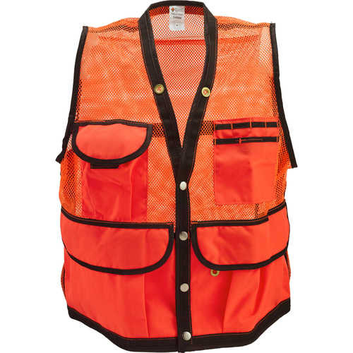 Jim-Gem 8-Pocket Nylon Mesh Cruiser Vest with Insect Shield