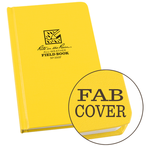 Rite In The Rain 350 Field Book | Fabrikoid Cover | 350F
