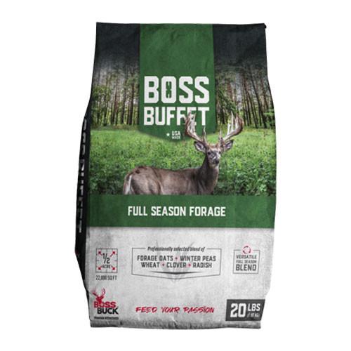 Boss Buffet Deer Feed Full Season Forage | Boss Buck | BB-BFT