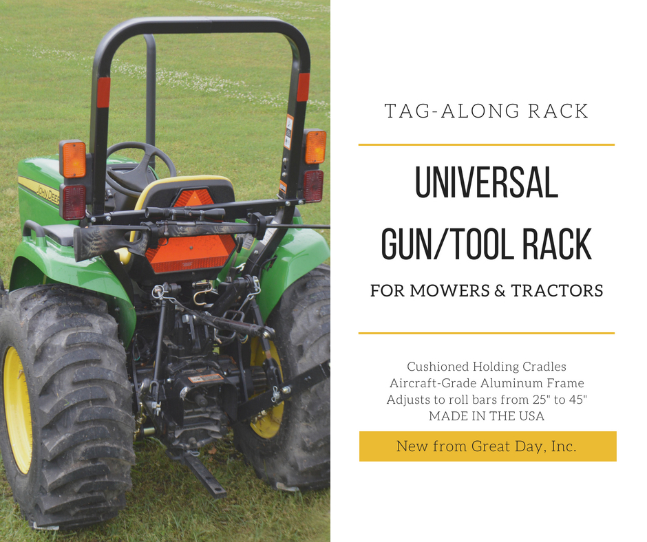 Great Day Tag-Along Universal Gun/Tool Rack