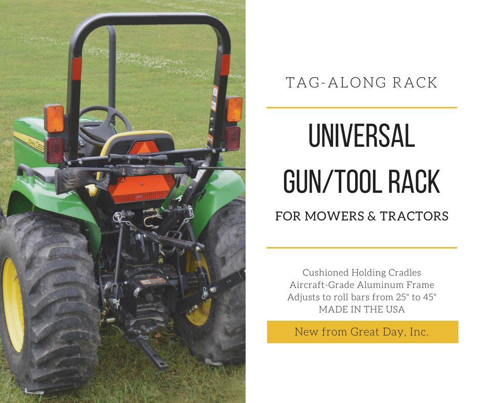 Great Day Tag-Along Universal Gun/Tool Rack