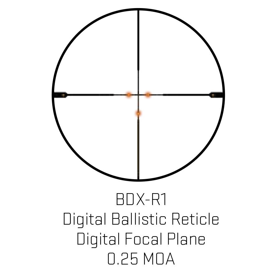Sig Sauer Sierra3BDX Riflescope 2.5-8x32