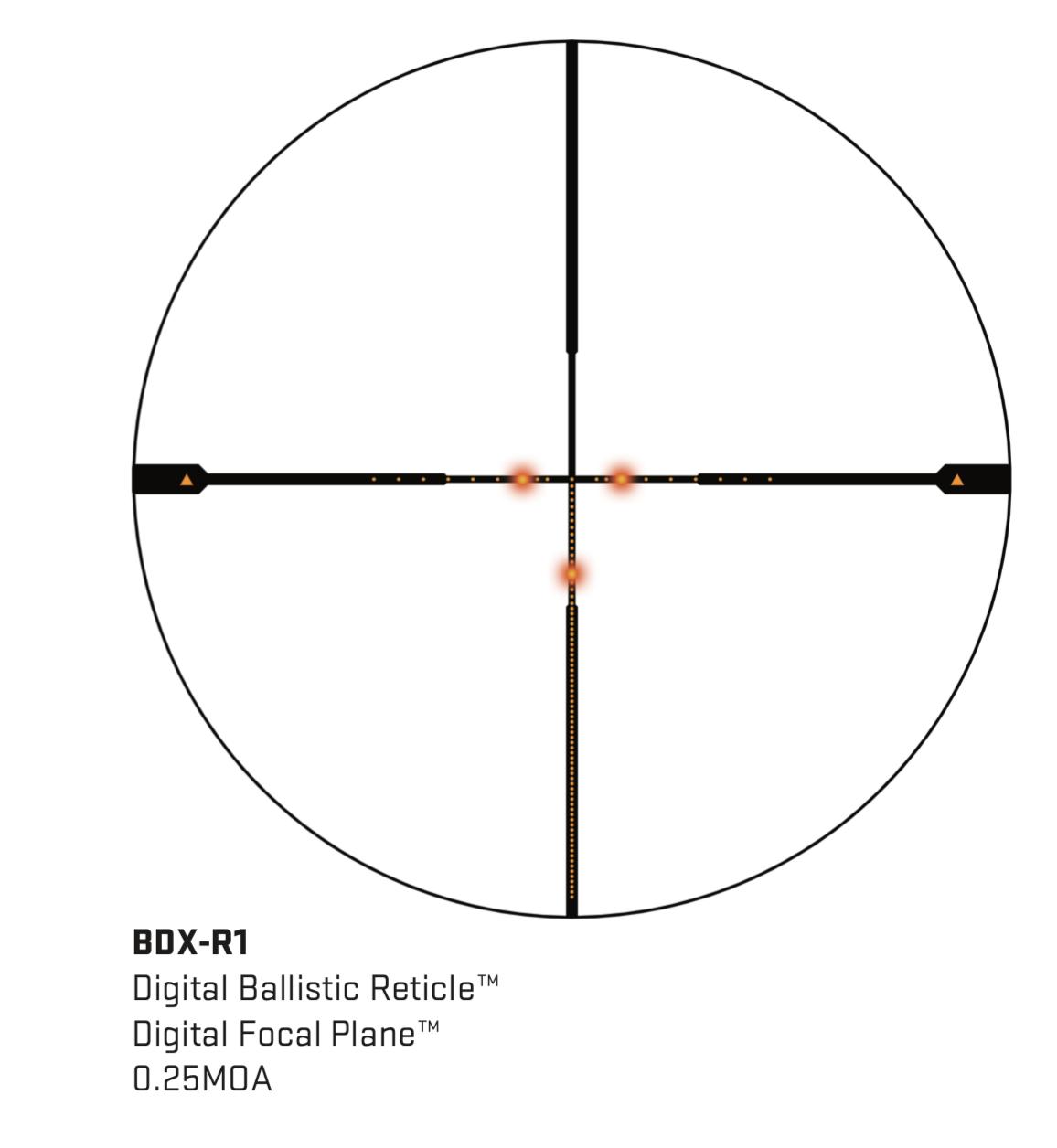 Sig Sauer Sierra3BDX Riflescope 3.5-8 x 42mm