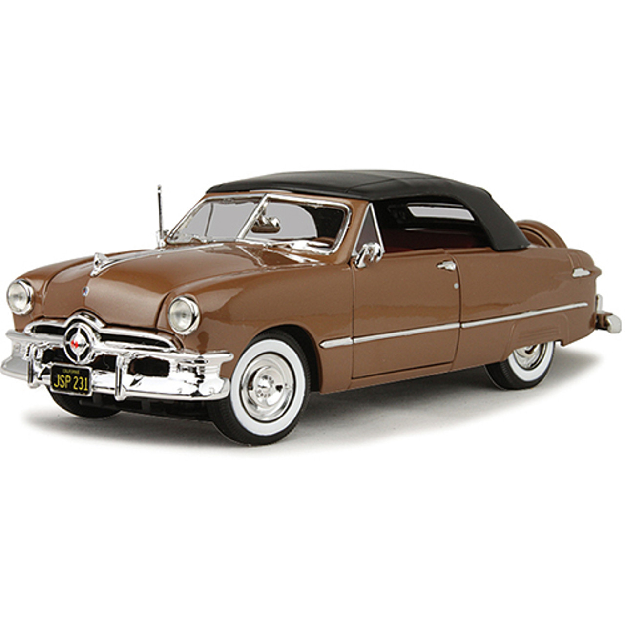 1950 Ford Custom Deluxe Convertible 1 18 Scale Diecast Model By Maisto Collectable Diecast