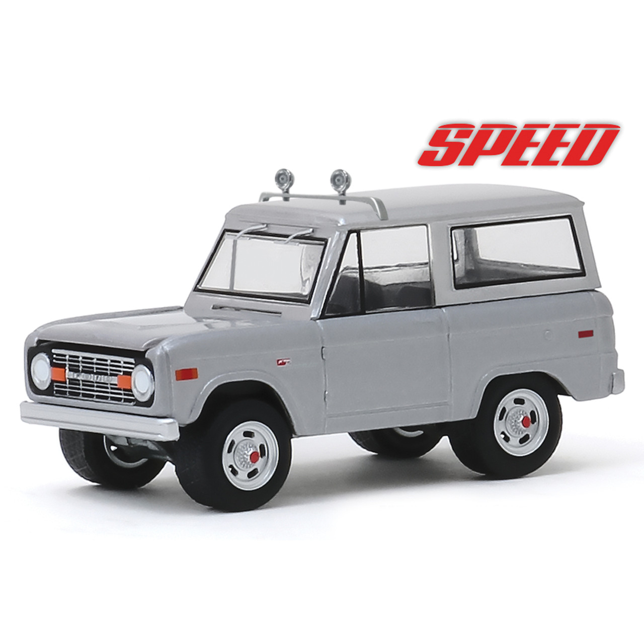 Ford bronco 1970 blanco Speed Jack travens coche modelo 1:18 GreenLight Collectibles