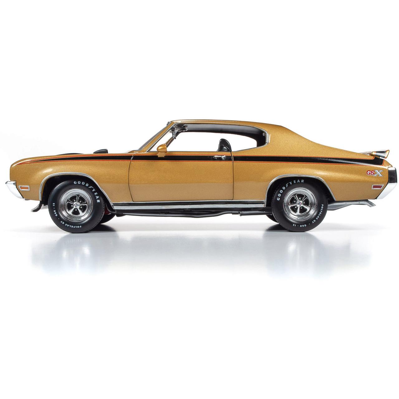 1:18 Scale Die-Cast Model Car American Muscle 1971 Buick GSX ...