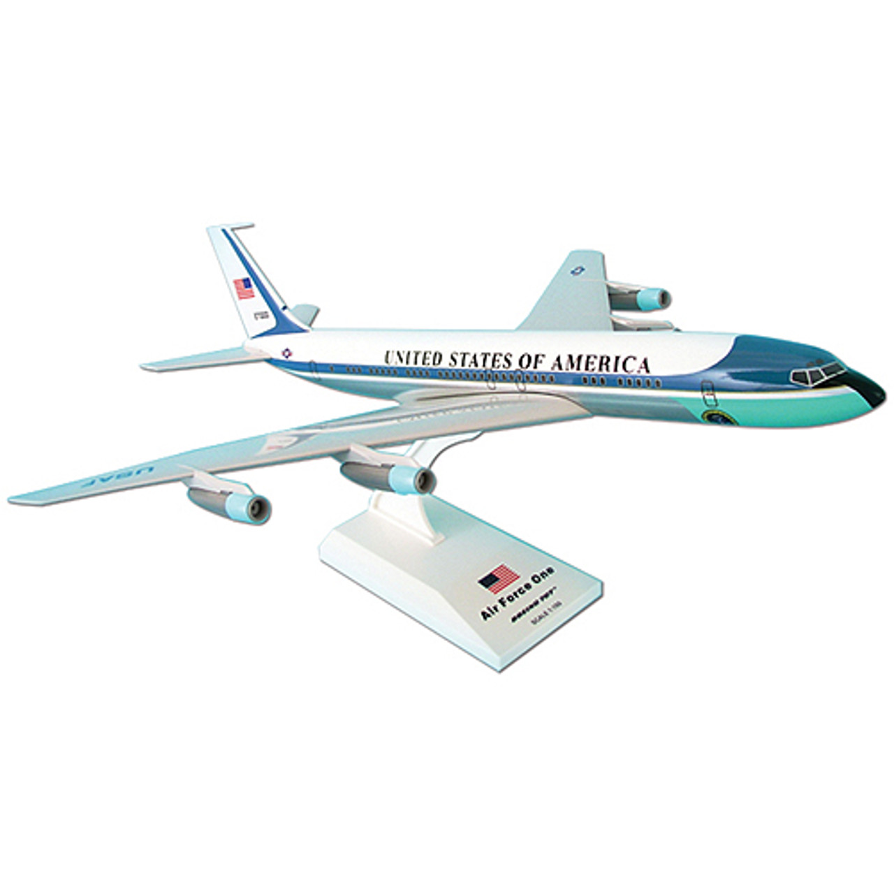 Air Force One Boeing 707 27000 1 150 Scale Diecast Model By Daron