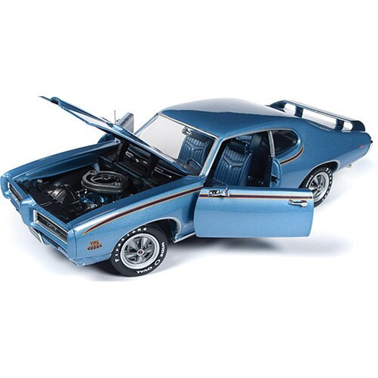 1969 Pontiac Gto Judge Mcacn 1 18 Scale Diecast Model By American Muscle Collectable Diecast