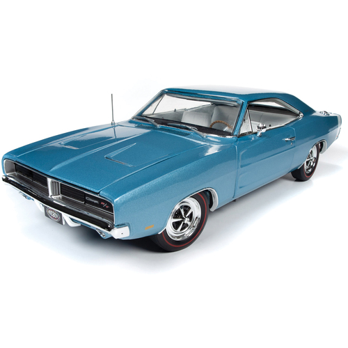 1969 Dodge Charger RT Hardtop NCACN 1:18 Scale Diecast Model by American Muscle Ertl