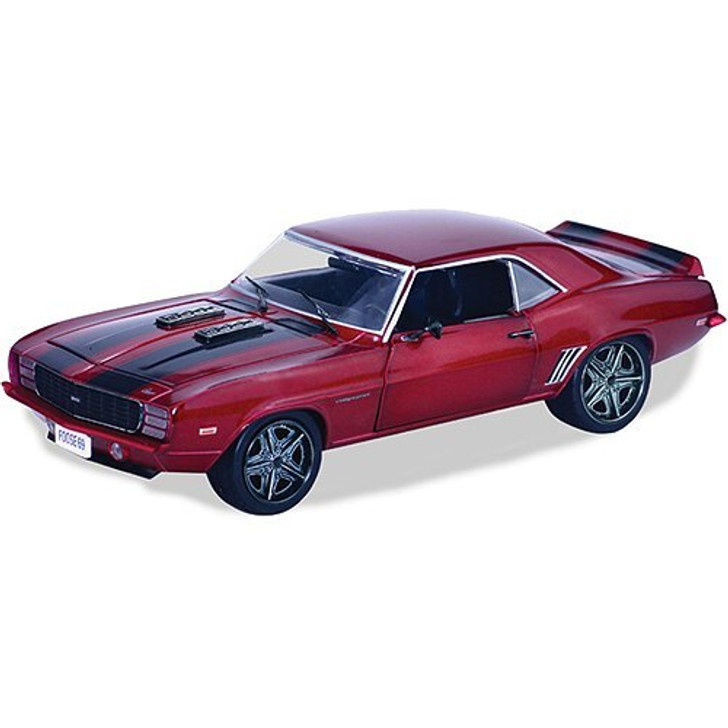 M2 Machines Foose Design 1969 Camaro RS - Sioux Red 124 Scale Diecast Model by M2 Machines 16418NX