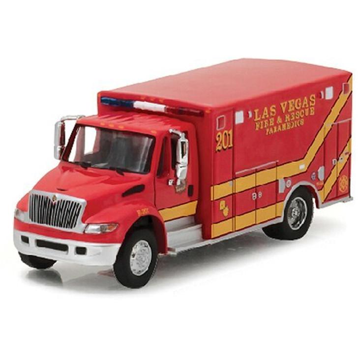 Greenlight International Durastar Las Vegas Fire and Rescue Truck 164 Scale Diecast Model by Greenlight 16754NX
