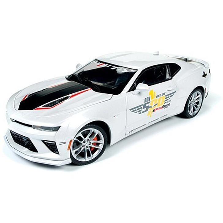 Auto World 2017 Camaro Indy 500 Pace Car 118 Scale Diecast Model by Auto World 17184NX