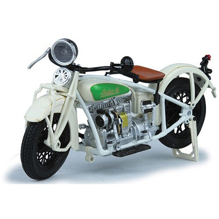 New-Ray Toys 1930 Indian Four Motorcycle 112 Scale Diecast Model by New-Ray Toys 19349NX