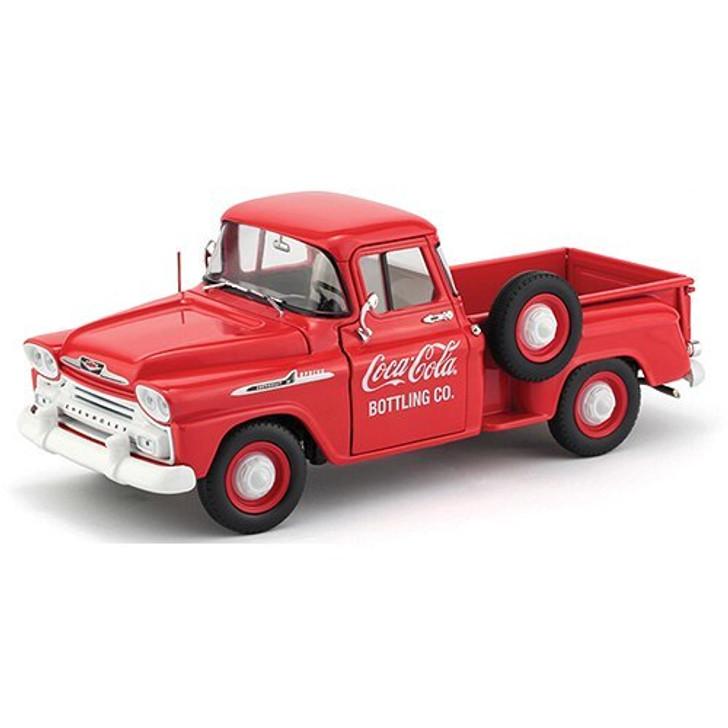 M2 Machines 1958 Coca-Cola Chevrolet Apache Pickup 124 Scale Diecast Model by M2 Machines 18790NX