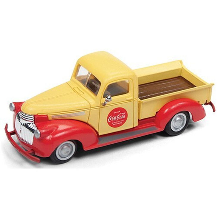 Classic Metal Works Coca-Cola 1941 Chevrolet Pickup Truck 187 Scale Diecast Model by Classic Metal Works 18907NX