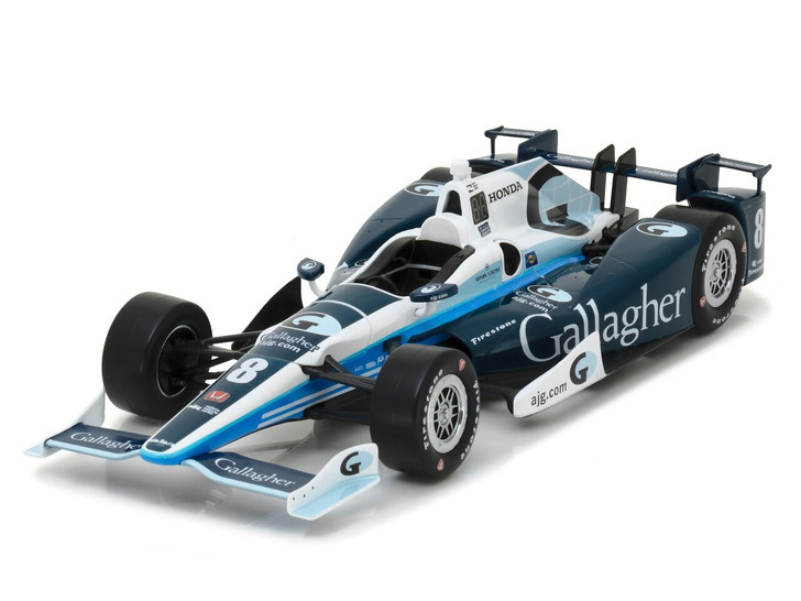 Greenlight 118 2017 #8 Max Chilton / Chip Ganassi Racing, Gallagher 118 Scale Diecast Model by Greenlight GL11010