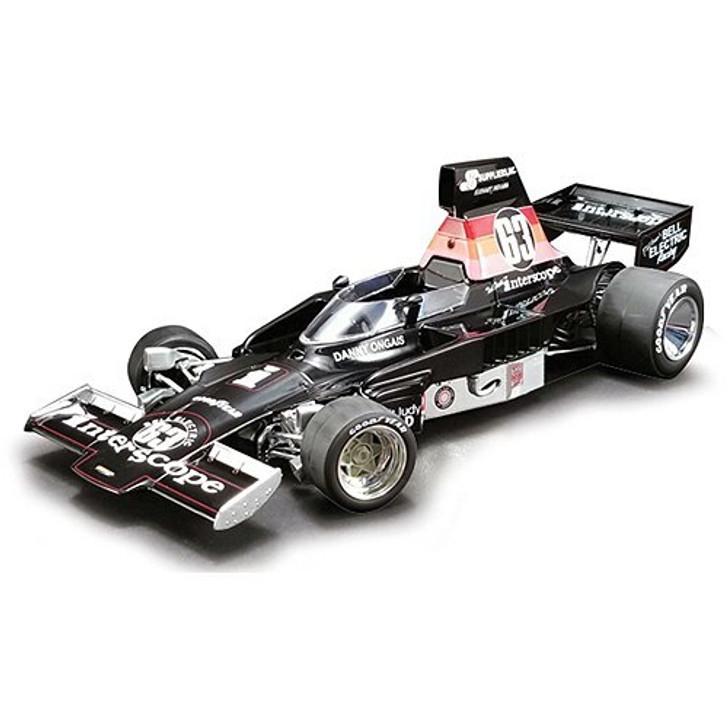 Acme Danny Ongais 1975 Interscope Lola T332 Formula 5000 Racer 118 Scale Diecast Model by Acme 19027NX