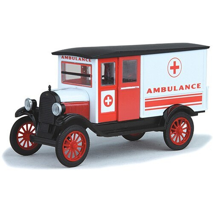New-Ray Toys 1924 Chevy 1-Ton Ambulance 132 Scale Diecast Model by New-Ray Toys 19703NX