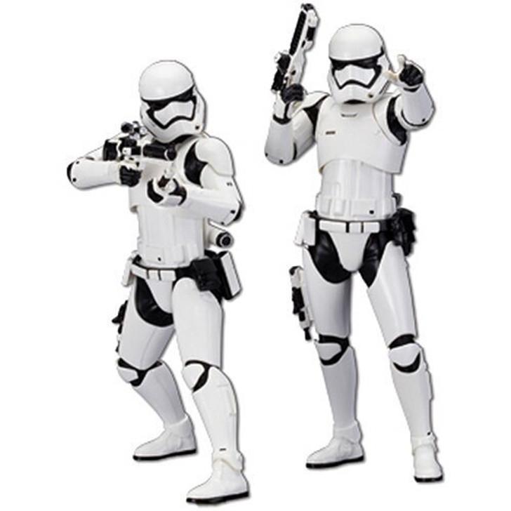 Kotobukiya STAR WARS Two Pack First Order Stormtroopers 110 Scale Diecast Model by Kotobukiya 16309NX