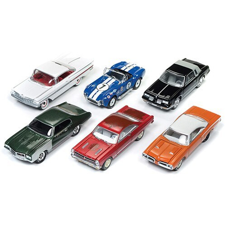 Johnny Lightning Cars and Coffee and Barn Find Diecast 164 Scale Diecast Model by Johnny Lightning 18068NX