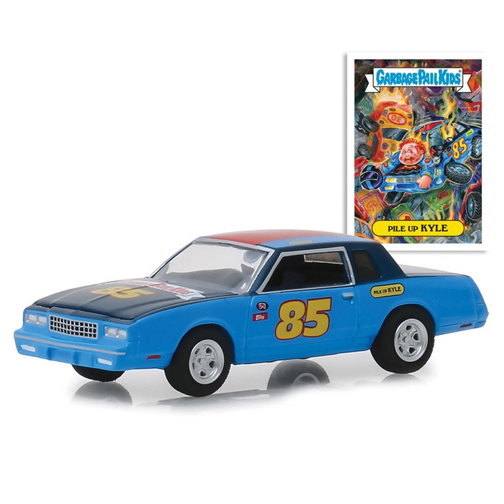 Greenlight Pile Up Kyle 1983 Monte Carlo Garbage Pail Kids 164 Scale Diecast Model by Greenlight 20067NX 819725027649