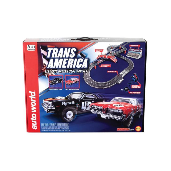 Auto World Trans Am Glory Days Slot Car Racing Set 164 Scale Diecast Model by Auto World 20169NX 849398035283