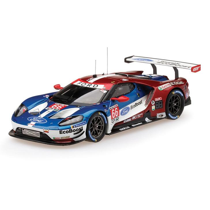 TSM-Model Ganassi Racing Ford GT LMGTE #66 Class Winner 143 Scale Diecast Model by TSM-Model 19899NX 4895183608480