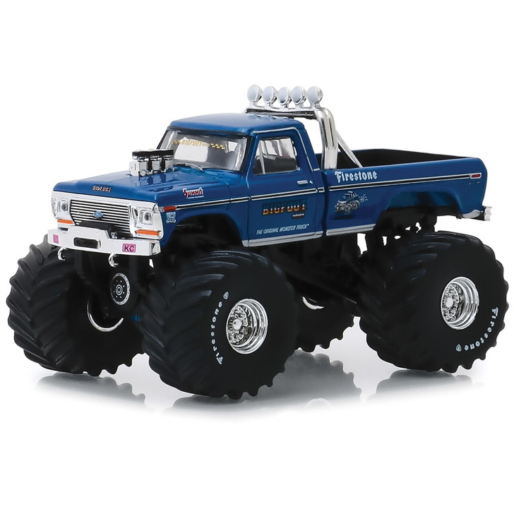 Greenlight Bigfoot #1 1974 Ford F-250 66 Tire Monster Truck 164 Scale Diecast Model by Greenlight 19622NX