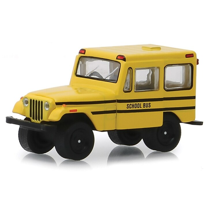 Greenlight 1974 Jeep DJ-5 School Bus 164 Scale Diecast Model by Greenlight 19614NX
