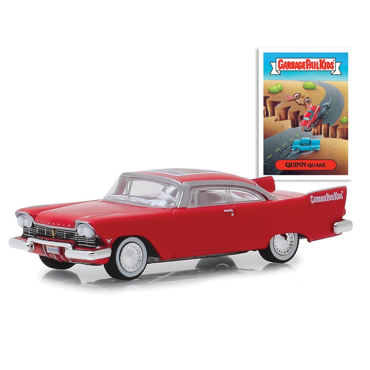 Greenlight Quinn Quake 1957 Plymouth Belevedere Garbage Pail Kilds 164 Scale Diecast Model by Greenlight 20066NX 819725027649