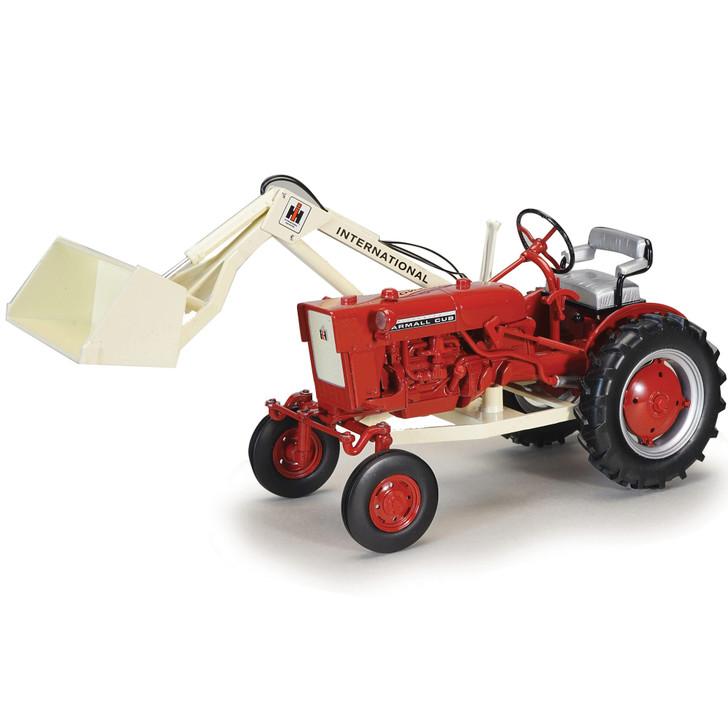 1977 Farmall Cub Tractor & One Arm Loader Main Image