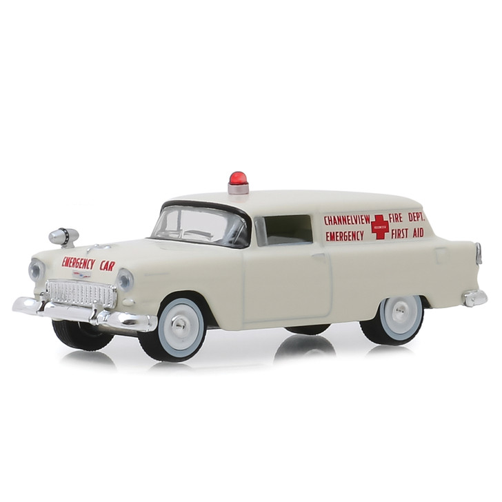 1955 Chevy Texas Volunteer Ambulance Main Image