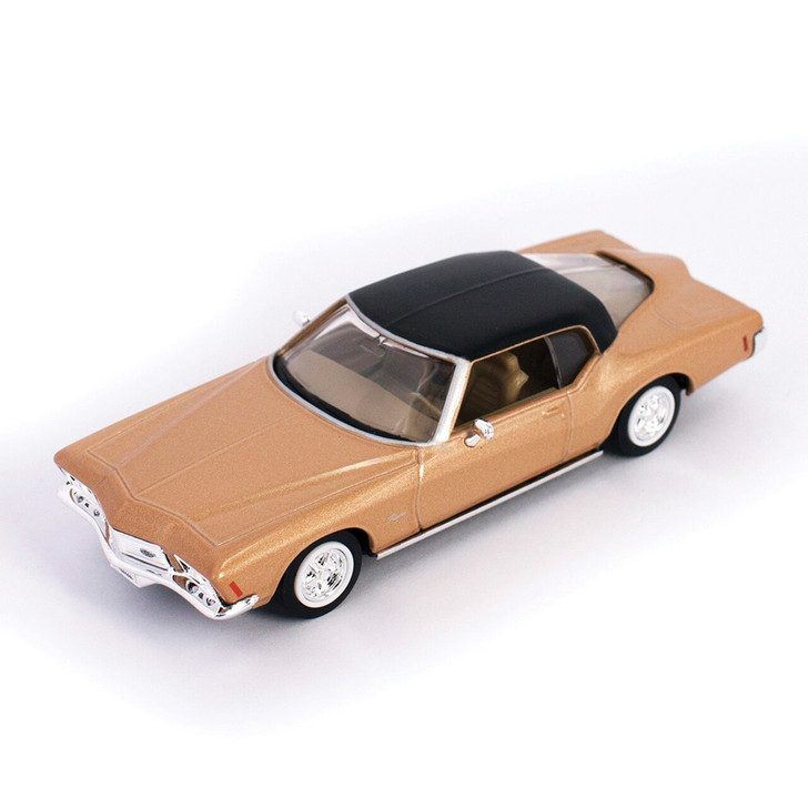 Road Signature 1971 Buick Riviera GS - Gold 143 Scale Diecast Model by Road Signature 20458NX