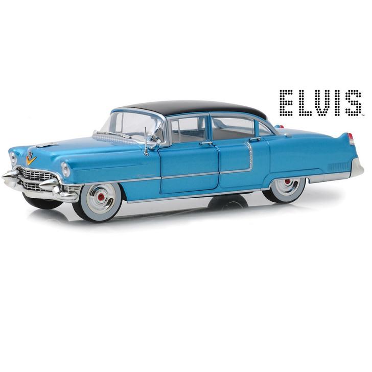 Greenlight Elvis Presley 1955 Cadillac Fleetwood Series 60 124 Scale Diecast Model by Greenlight 19567NX