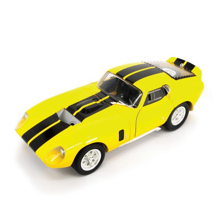 Road Signature 1965 Shelby Cobra Daytona 118 Scale Diecast Model by Road Signature 20426NX
