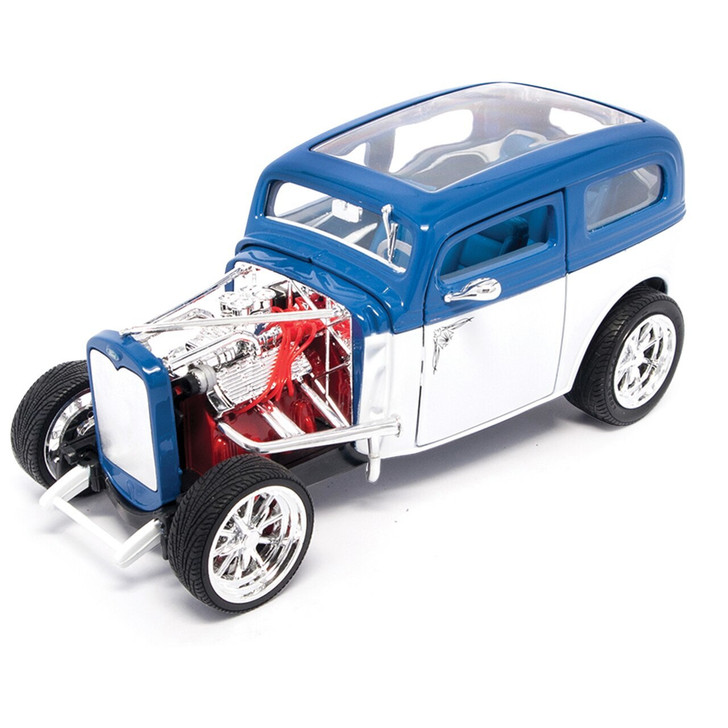 Road Signature 1931 Ford Model A Hot Rod - White 118 Scale Diecast Model by Road Signature 20439NX