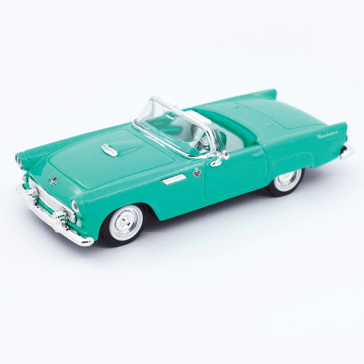 Road Signature 1955 Ford Thunderbird - Green 143 Scale Diecast Model by Road Signature 20449NX 888693042831