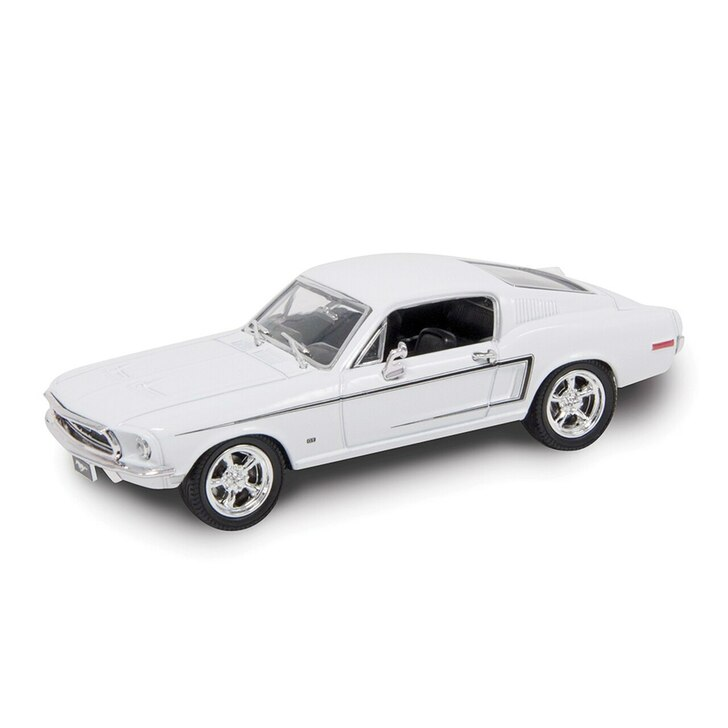 Road Signature 1968 Ford Mustang GT and Display Case 143 Scale Diecast Model by Road Signature 20409NX