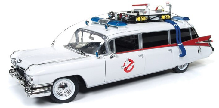 Auto World Ghostbusters 1959 Cadillac ECTOmobile All Other Scales Scale Diecast Model by Auto World 17554NX