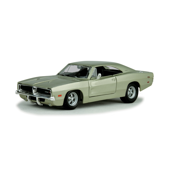 1969 Dodge Charger R/T - Silver Main Image