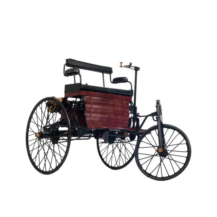 1886 Patent Wagen Metal Scuplture Main Image