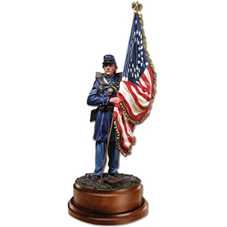 Civil War Union Army Flag Bearer Main Image