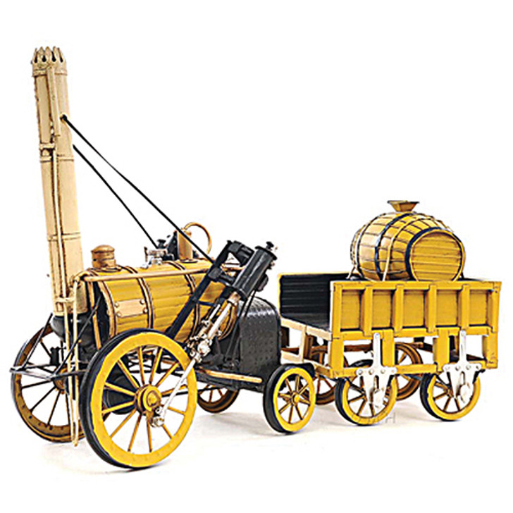 1829 Stephenson Rocket Steam Locomotive Main Image