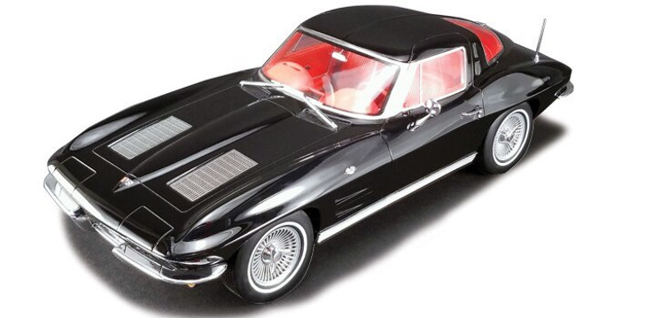 Acme 1963 Corvette Sting Ray Split Window Coupe 112 Scale Diecast Model by Acme 18088NX