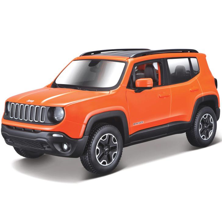 Jeep Renegade Diecast Model Kit Main Image
